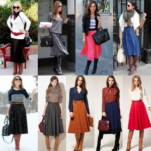 Knee-High-Boots-with-Midi-Skirt