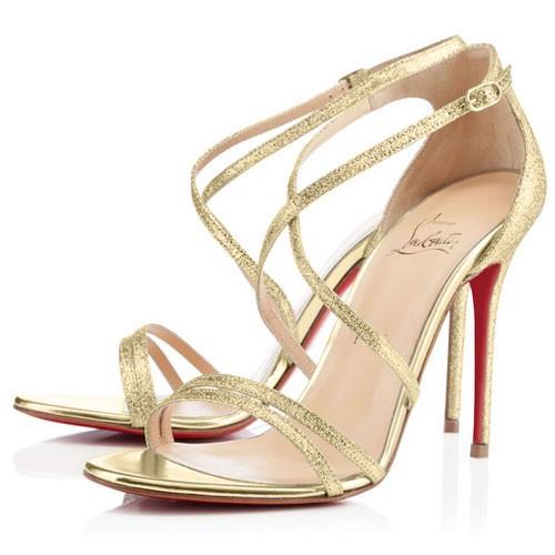 617033e7d4fe97 Designer Gold Heels - Heels Zone